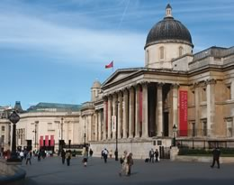 The National Gallery London England